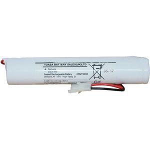 3DH4-0LA4 Yuasa NiCd Emergency Lighting Battery 3.6V 4Ah