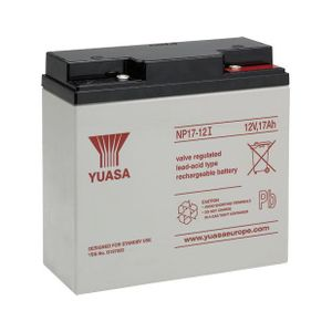 Yuasa NP17-12i Valve Regulated Lead Acid Battery 12V 17Ah