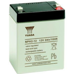 NPH2-12 yuasa NPH-Series - Valve Regulated Lead Acid Battery