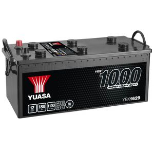 629SHD Yuasa Cargo Super Heavy Duty Battery 12V 180Ah YBX1629