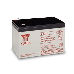 Yuasa NP12-12 Valve Regulated Lead Acid Battery 12V 12Ah