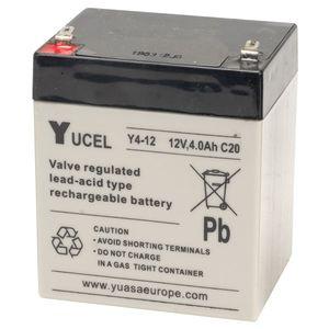 Y4-12 Yuasa Valve Regulated Lead Acid Battery