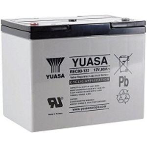 Yuasa REC80-12i 12V 80Ah High Performance Heavy Duty Cyclic Mobility Battery