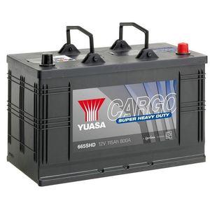 655HD Yuasa Cargo Heavy Duty Battery 12V 125Ah