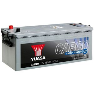 729GM Yuasa Cargo Deep Cycle GM Battery 12V 185Ah YBX5629