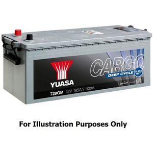 724GM Yuasa Cargo Deep Cycle GM Battery 12V 230Ah