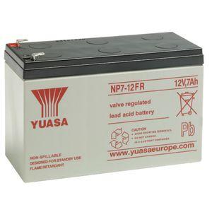 Yuasa NP7-12FR Fire Retardent Valve Regulated Lead Acid 12V 7Ah