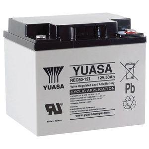 Yuasa REC50-12 12V 50Ah Cyclic AGM VRLA Deep Cycle Battery