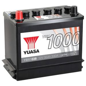 YBX1038 Yuasa CaCa Car Battery 12V 35Ah