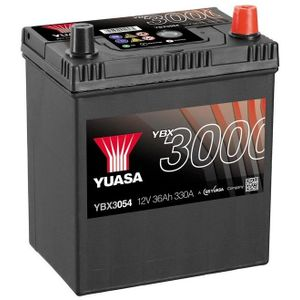 YBX3054 Yuasa SMF Car Battery 12V 36Ah
