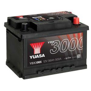 YBX3065 Yuasa SMF Car Battery 12V 56Ah