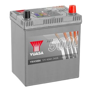 YBX5054 Yuasa Silver High Performance Car Battery 12V 40Ah