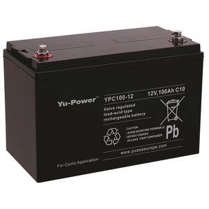 YPC100-12 Yuasa YuPower Cyclic VRLA 100-12 Battery