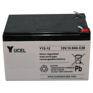 Yuasa Yucel Y12-12 VRLA/AGM Battery