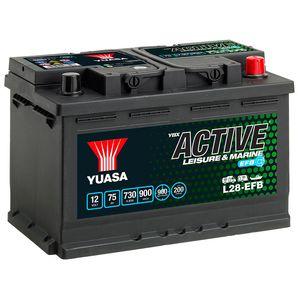 L28-EFB Yuasa Leisure Battery 12V 75Ah