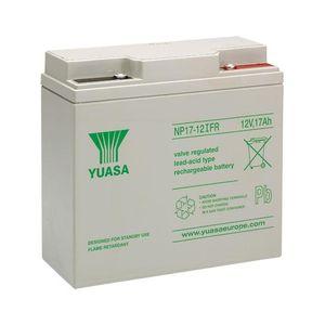 Yuasa NP17-12iFR Valve Regulated Lead Acid Battery 12V 17Ah