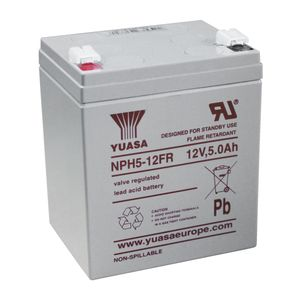 NPH5-12 (FR) Yuasa NPH-Series - Valve Regulated Lead Acid Battery