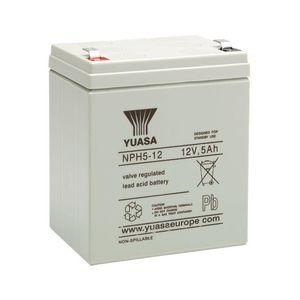 NPH5-12 Yuasa NPH-Series - Valve Regulated Lead Acid Battery