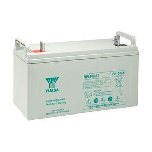NPL100-12 Yuasa NPL-Series - Valve Regulated Lead Acid Battery 12V 100Ah