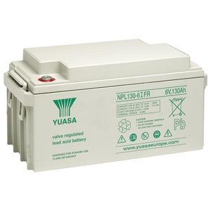 Yuasa NPL130-6FR NPL-Series - Valve Regulated Lead Acid Battery
