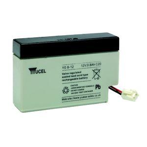 Yuasa Yucel Y0.8-12 Valve Regulated Lead Acid Battery