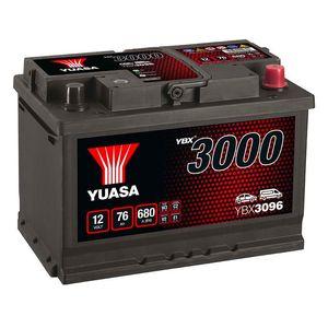 YBX3096 Yuasa SMF Car Battery 12V 76Ah