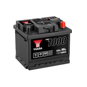 YBX1063 Yuasa CaCa Car Battery 12V 40Ah