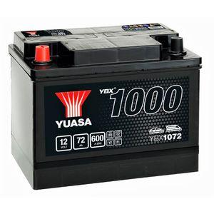 YBX1072 Yuasa CaCa Car Battery 12V 72Ah
