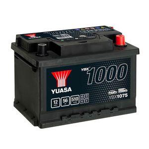 YBX1075 Yuasa CaCa Car Battery 12V 56Ah