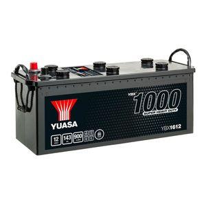627SHD Yuasa Cargo Super Heavy Duty Battery 12V 143Ah YBX1612
