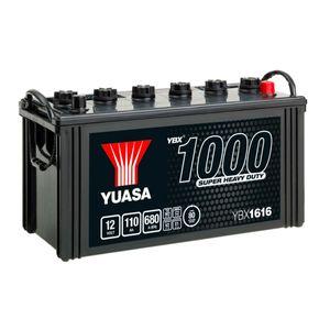 616HD Yuasa Cargo Heavy Duty Battery 12V 110Ah YBX1616