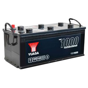 620HD Yuasa Cargo Heavy Duty Battery 12V 180Ah YBX1620