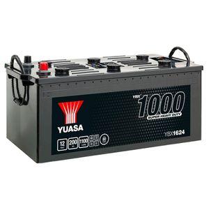 624HD Yuasa Cargo Heavy Duty Battery 12V 200Ah YBX1624