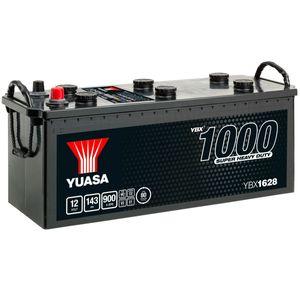 628HD Yuasa Cargo Heavy Duty Battery 12V 143Ah YBX1628