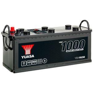 630HD Yuasa Cargo Heavy Duty Battery 12V 143Ah YBX1630