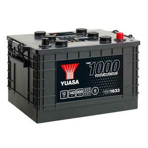 633HD Yuasa Cargo Heavy Duty Battery 12V 140Ah YBX1633