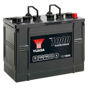 655HD Yuasa Cargo Heavy Duty Battery 12V 126Ah YBX1655