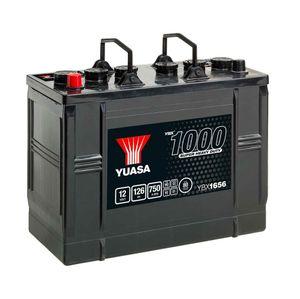 656HD Yuasa Cargo Heavy Duty Battery 12V 126Ah YBX1656