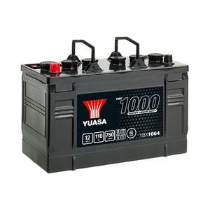 664HD Yuasa Cargo Heavy Duty Battery 12V 110Ah YBX1664