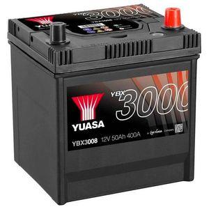 YBX3008 Yuasa SMF Car Battery 12V 50Ah