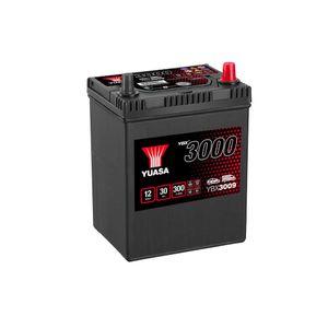 YBX3009 Yuasa SMF Car Battery 12V 30Ah