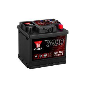 YBX3012 Yuasa SMF Car Battery 12V 52Ah