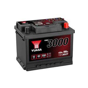 YBX3027 Yuasa SMF Car Battery 12V 62Ah