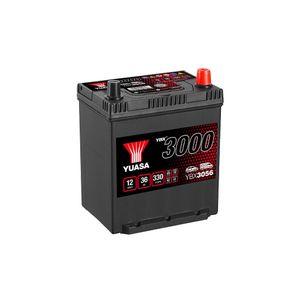 YBX3056 Yuasa SMF Car Battery 12V 36Ah