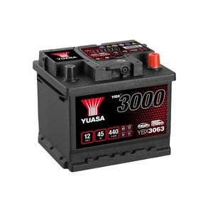 YBX3063 Yuasa SMF Car Battery 12V 45Ah