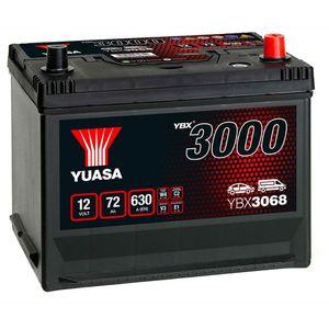 YBX3068 Yuasa SMF Car Battery 12V 72Ah