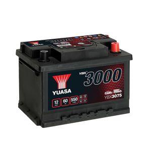 YBX3075 Yuasa SMF Car Battery 12V 60Ah