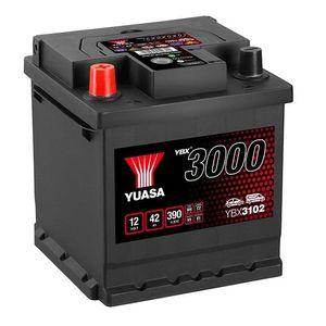 YBX3102 Yuasa SMF Car Battery 12V 42Ah