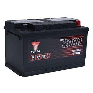 YBX3115 Yuasa SMF Car Battery 12V 85Ah