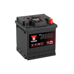 YBX3202 Yuasa SMF Car Battery 12V 42Ah